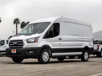 2020 Ford Transit 250 Med Roof RWD, Harbor Upfitted Cargo Van #FL3923 - photo 1