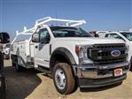2020 Ford F-450 Regular Cab DRW 4x2, Scelzi CTFB Contractor Body #FL3930 - photo 6