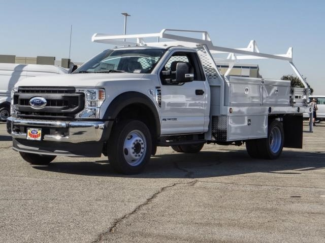 2020 Ford F-450 Regular Cab DRW 4x2, Scelzi CTFB Contractor Body #FL3931 - photo 1