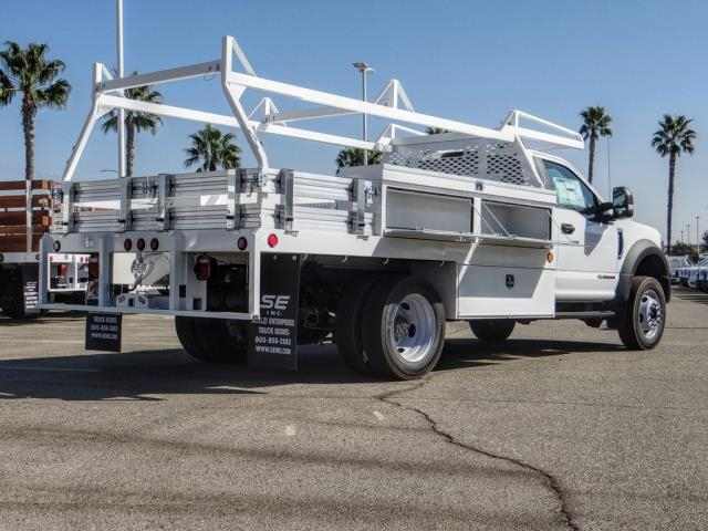 2020 Ford F-450 Regular Cab DRW 4x2, Scelzi CTFB Contractor Body #FL3931 - photo 5