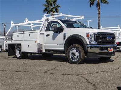 2020 Ford F-450 Regular Cab DRW 4x2, Scelzi CTFB Contractor Body #FL3931 - photo 7
