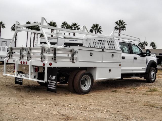 2020 Ford F-450 Crew Cab DRW 4x2, Scelzi CTFB Contractor Body #FL3932 - photo 5