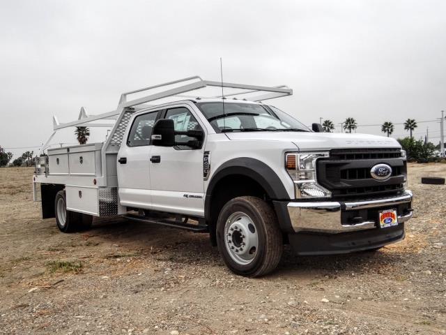 2020 Ford F-450 Crew Cab DRW 4x2, Scelzi CTFB Contractor Body #FL3932 - photo 7