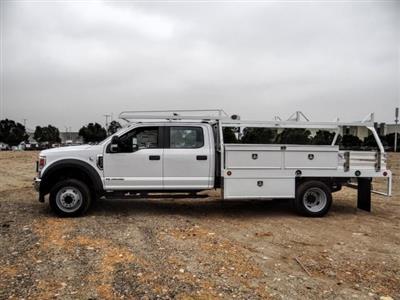 2020 Ford F-450 Crew Cab DRW 4x2, Scelzi CTFB Contractor Body #FL3932 - photo 3