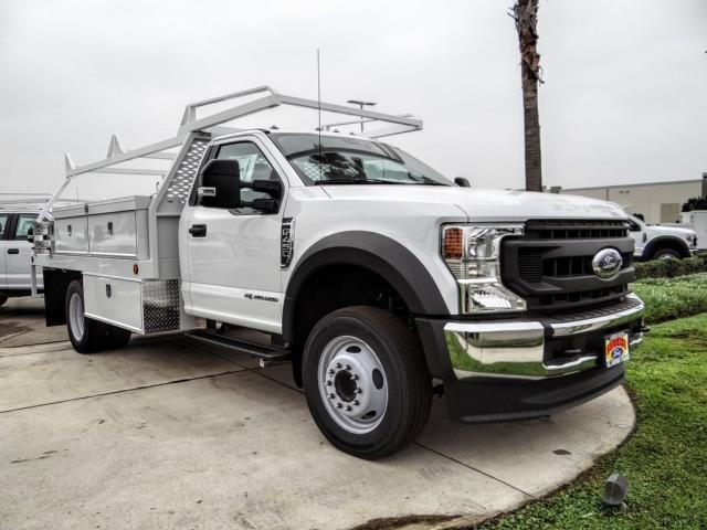 2020 Ford F-450 Regular Cab DRW 4x2, Scelzi CTFB Contractor Body #FL3934 - photo 7