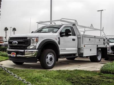 2020 Ford F-450 Regular Cab DRW 4x2, Scelzi CTFB Contractor Body #FL3934 - photo 1