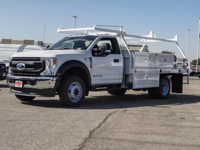 2020 Ford F-450 Regular Cab DRW 4x2, Scelzi Contractor Body #FL3939 - photo 1