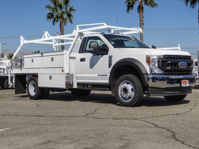 2020 Ford F-450 Regular Cab DRW 4x2, Scelzi CTFB Contractor Body #FL3939 - photo 8