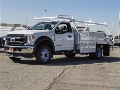 2020 Ford F-450 Regular Cab DRW 4x2, Scelzi CTFB Contractor Body #FL3939 - photo 1