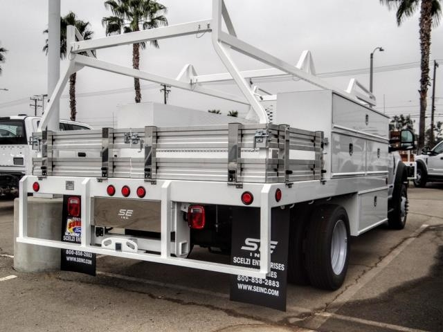 2020 Ford F-550 Regular Cab DRW 4x2, Scelzi Contractor Body #FL3942 - photo 1
