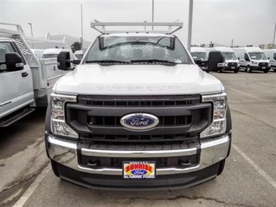 2020 Ford F-550 Regular Cab DRW 4x2, Scelzi SCTFB Contractor Body #FL3942 - photo 9