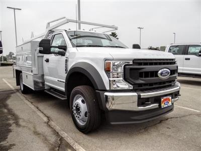 2020 Ford F-550 Regular Cab DRW 4x2, Scelzi SCTFB Contractor Body #FL3942 - photo 1
