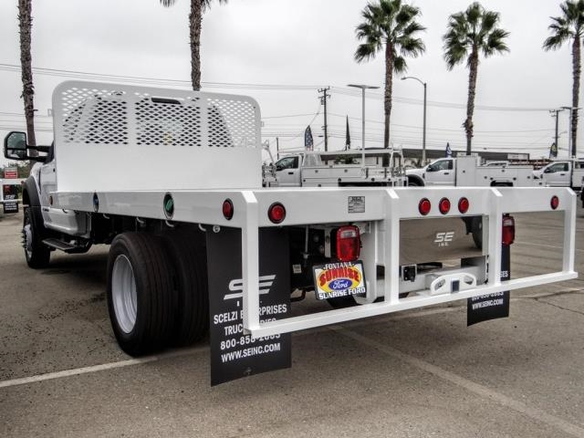 2020 Ford F-450 Regular Cab DRW 4x2, Scelzi Flatbed #FL3944 - photo 1