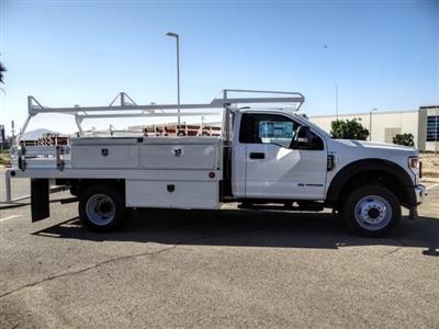 2020 Ford F-450 Regular Cab DRW 4x2, Scelzi CTFB Contractor Body #FL3968 - photo 6