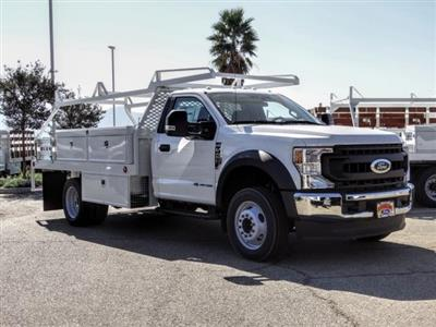 2020 Ford F-450 Regular Cab DRW 4x2, Scelzi CTFB Contractor Body #FL3968 - photo 7