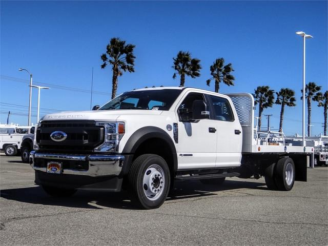 2020 Ford F-450 Crew Cab DRW 4x2, Scelzi WFB Flatbed #FL3991 - photo 1