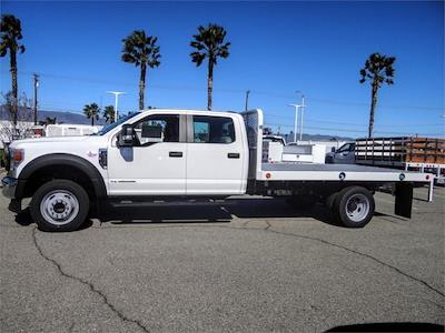 2020 Ford F-450 Crew Cab DRW 4x2, Scelzi WFB Flatbed #FL3991 - photo 3