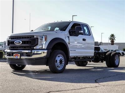 2020 Ford F-550 Super Cab DRW 4x2, Cab Chassis #FL4074 - photo 1