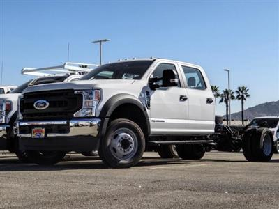 2020 Ford F-450 Crew Cab DRW 4x2, Cab Chassis #FL4110 - photo 1