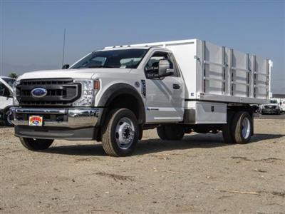2020 Ford F-550 Regular Cab DRW 4x2, Harbor Master Landscape Dump #FL4148 - photo 1