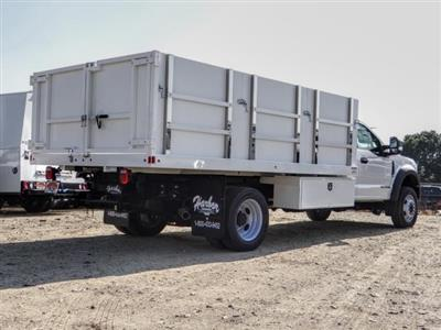 2020 Ford F-550 Regular Cab DRW 4x2, Harbor Master Landscape Dump #FL4148 - photo 5