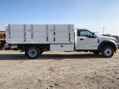 2020 Ford F-550 Regular Cab DRW 4x2, Harbor Master Landscape Dump #FL4148 - photo 6