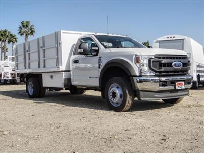 2020 Ford F-550 Regular Cab DRW 4x2, Harbor Master Landscape Dump #FL4148 - photo 7