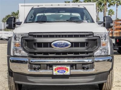 2020 Ford F-550 Regular Cab DRW 4x2, Harbor Master Landscape Dump #FL4148 - photo 8