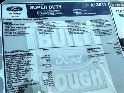2020 Ford F-450 Regular Cab DRW 4x2, Cab Chassis #FL4173 - photo 10