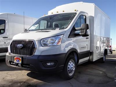 2020 Ford Transit 350 HD DRW 4x2, Harbor WorkMaster Service Utility Van #FL4198 - photo 1