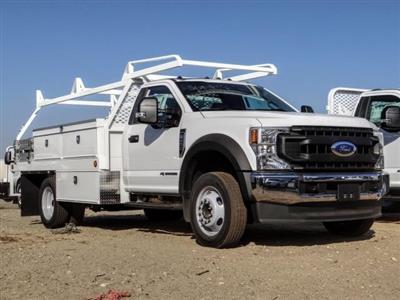 2020 Ford F-450 Regular Cab DRW 4x2, Scelzi CTFB Contractor Body #FL4234 - photo 1