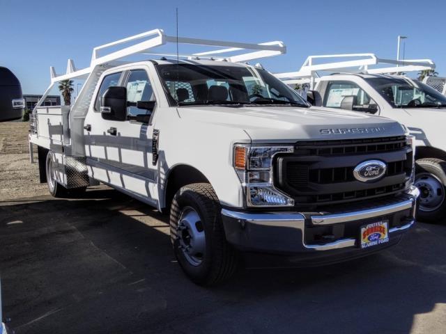2020 Ford F-350 Crew Cab DRW 4x2, Scelzi CTFB Contractor Body #FL4358 - photo 7
