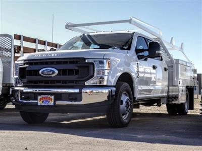 2020 Ford F-350 Crew Cab DRW 4x2, Scelzi CTFB Contractor Body #FL4358 - photo 1