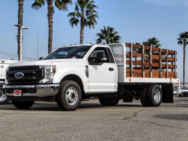 2020 Ford F-350 Regular Cab DRW 4x2, Scelzi Stake Bed #FL4416 - photo 1