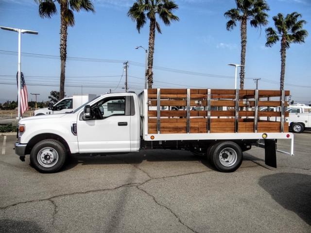 2020 Ford F-350 Regular Cab DRW 4x2, Scelzi WFB Stake Bed #FL4416 - photo 3