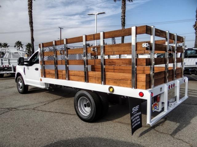 2020 Ford F-350 Regular Cab DRW 4x2, Scelzi WFB Stake Bed #FL4416 - photo 2
