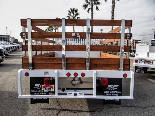 2020 Ford F-350 Regular Cab DRW 4x2, Scelzi WFB Stake Bed #FL4416 - photo 4