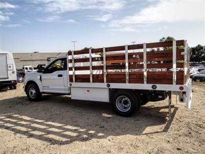 2020 Ford F-350 Regular Cab DRW 4x2, Scelzi WFB Stake Bed #FL4426 - photo 2