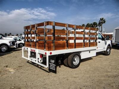 2020 Ford F-350 Regular Cab DRW 4x2, Scelzi WFB Stake Bed #FL4426 - photo 5