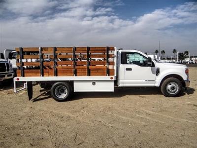 2020 Ford F-350 Regular Cab DRW 4x2, Scelzi WFB Stake Bed #FL4426 - photo 6