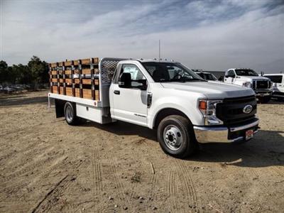 2020 Ford F-350 Regular Cab DRW 4x2, Scelzi WFB Stake Bed #FL4426 - photo 7