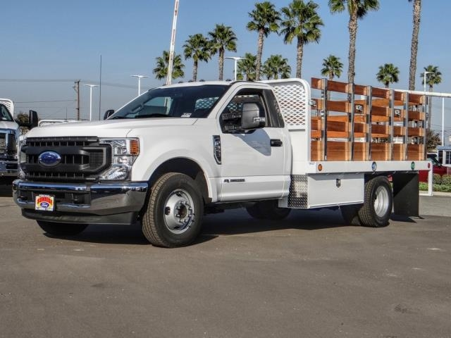 2020 Ford F-350 Regular Cab DRW 4x2, Scelzi WFB Stake Bed #FL4427 - photo 1