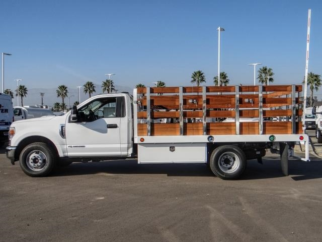 2020 Ford F-350 Regular Cab DRW 4x2, Scelzi WFB Stake Bed #FL4427 - photo 3