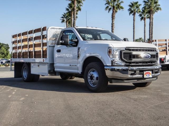 2020 Ford F-350 Regular Cab DRW 4x2, Scelzi WFB Stake Bed #FL4427 - photo 7