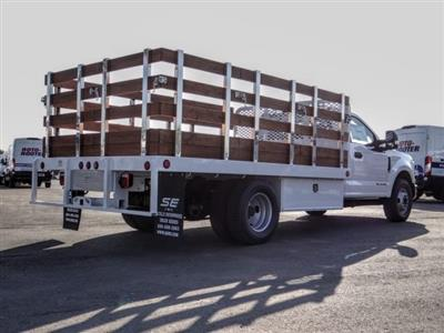 2020 Ford F-350 Regular Cab DRW 4x2, Scelzi WFB Stake Bed #FL4427 - photo 5