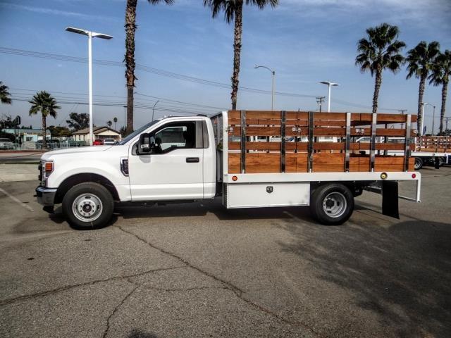 2020 Ford F-350 Regular Cab DRW 4x2, Scelzi WFB Stake Bed #FL4433 - photo 3