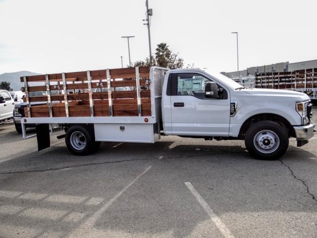 2020 Ford F-350 Regular Cab DRW 4x2, Scelzi WFB Stake Bed #FL4433 - photo 7