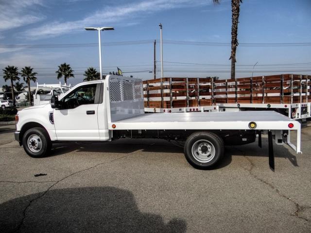 2020 Ford F-350 Regular Cab DRW 4x2, Scelzi WFB Flatbed #FL4434 - photo 3