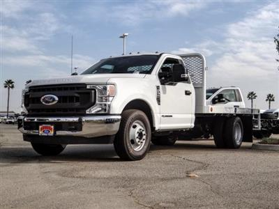2020 Ford F-350 Regular Cab DRW 4x2, Scelzi WFB Flatbed #FL4445 - photo 1