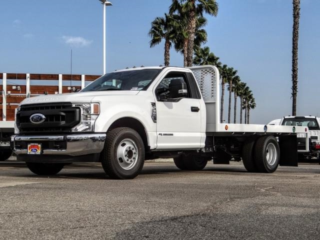 2020 Ford F-350 Regular Cab DRW 4x2, Scelzi WFB Flatbed #FL4446 - photo 1